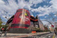 Mestalla Stadium Stock Photo