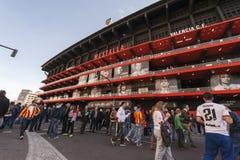 Mestalla Stadium before the Match Stock Image