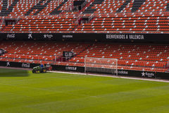 Mestalla Stadium Royalty Free Stock Photo