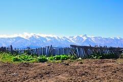 Mestia, Svaneti Georgië Stock Afbeelding