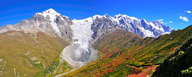 Mestia-Ushguli trek, Svaneti Georgia Stock Photo