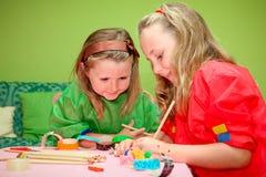 mestiere dei bambini Fotografia Stock