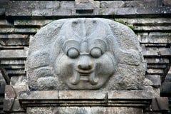 Mestiere di pietra in tempio di Candi Singosari vicino da Malang su Java, immagini stock libere da diritti