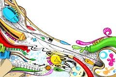 Mestiere Doddle illustrazione vettoriale