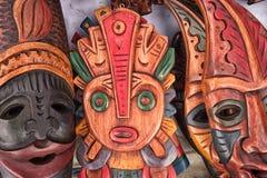 Mestiere indigeno fatto di legno fotografie stock libere da diritti