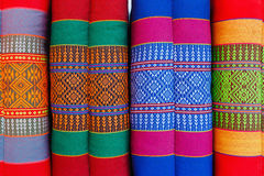 Mestiere tradizionale tailandese del modello Fotografia Stock