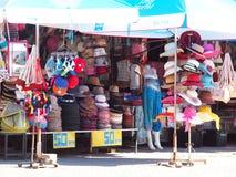 mestieri di stile di vita, ricordo progettato che vende bordo della strada sul TRIANGOLO DORATO TAILANDIA Fotografie Stock