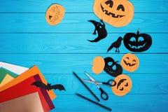 Mestieri per Halloween Fotografia Stock