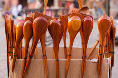 Mestolo, cucchiaio e pala Fotografia Stock Libera da Diritti