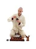Mestre #2 da cerimónia de chá foto de stock