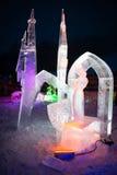 MESTRE 2013 do GELO de TATRY em Hrebienok, Slovakia Imagem de Stock Royalty Free