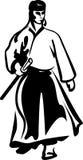 Mestre da arte marcial Ilustração do Vetor