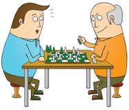 Mestre da xadrez ilustração stock