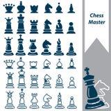Mestre da xadrez Imagens de Stock
