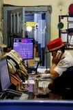 Mestre de estação no trabalho Imagem de Stock