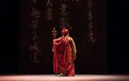 "Mestre de zen do  branco de Opera""Madame Snake†do ato-Kunqu do back-The segundo fotos de stock"