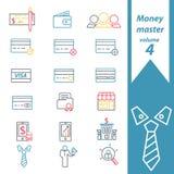Mestre 4 do dinheiro Fotos de Stock Royalty Free