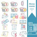 Mestre 1 do dinheiro Fotos de Stock Royalty Free