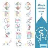 Mestre 2 do dinheiro Imagens de Stock