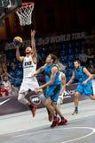 Mestres da excursão do mundo do basquetebol de FIBA 3X3 Foto de Stock Royalty Free