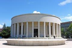 Mestrovic paviljong - rotunda, Zagreb royaltyfri foto