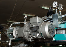 Mesure électrique et de pression Photographie stock