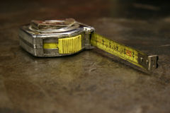 Mesure de bande Photographie stock