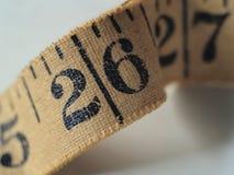 Mesure de bande de tissu Image stock