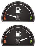 Mesure de gaz Image libre de droits