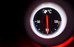 Mesure de la température Image stock