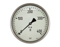 Mesure de mètre de pression Photo libre de droits