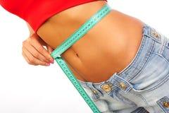 Mesure de poids photo stock