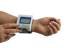 Mesure de pression artérielle Photo stock