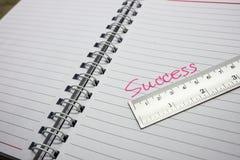 Mesure de succès Photo libre de droits