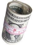 Mesure de votre argent Image stock