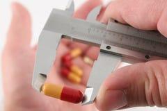 Mesure de votre dosage Image libre de droits