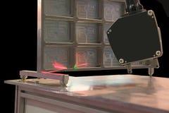 Mesure en industrie mécanique Image stock