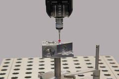 Mesure en industrie mécanique Image libre de droits