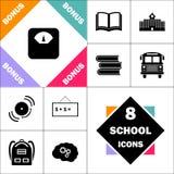 Mesure le symbole d'ordinateur illustration stock