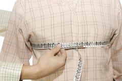 Mesure réglée de chemise de sein Image stock