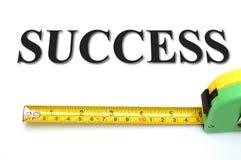 Mesure votre réussite Images stock