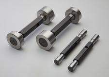 Mesures d'anneau ou outils ou matrices ou montages photographie stock libre de droits