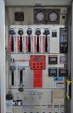 Mesures du ` s de pompier photographie stock libre de droits