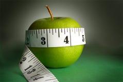 mesuring band för äpple Royaltyfri Bild