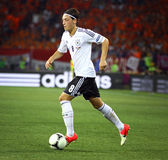 Mesut Ozil of Germany controls a ball Stock Photography