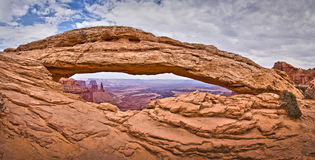 Mesy Wysklepiają, Canyonlands Park Narodowy, Utah Zdjęcie Royalty Free