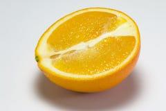 A metà arancio Immagine Stock