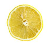 Metà del limone Immagini Stock