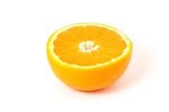 Metà dell'arancio 1 Fotografia Stock Libera da Diritti