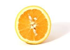 Metà dell'arancio Immagine Stock